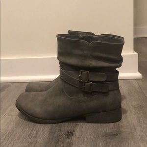 Just Fab Ankle Boots
